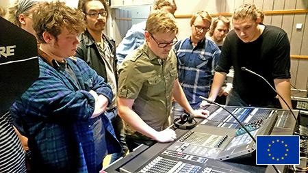 Ljudteknik under Educonf-utbildning