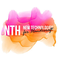 Logo: NTH - New Technologies for Handicraft