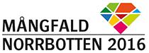 Logo: Mångfald Norrbotten 2016