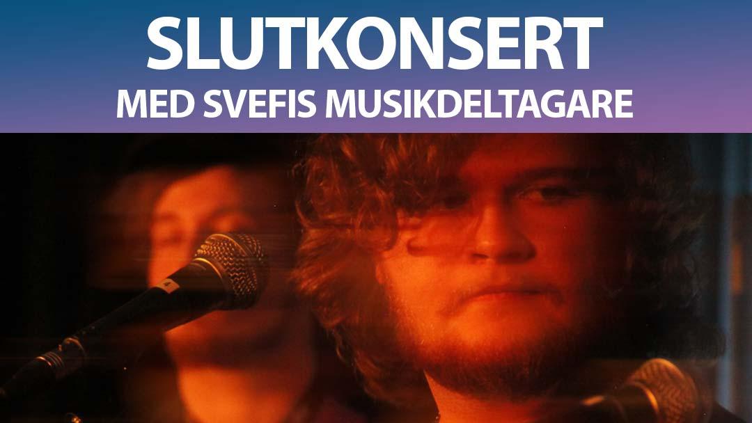 Slutkonsert med Svefis musikdeltagare
