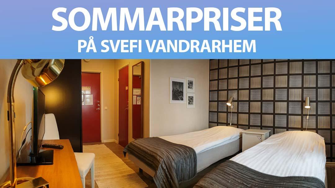 Sommarpriser på Svefi Vandrarhem