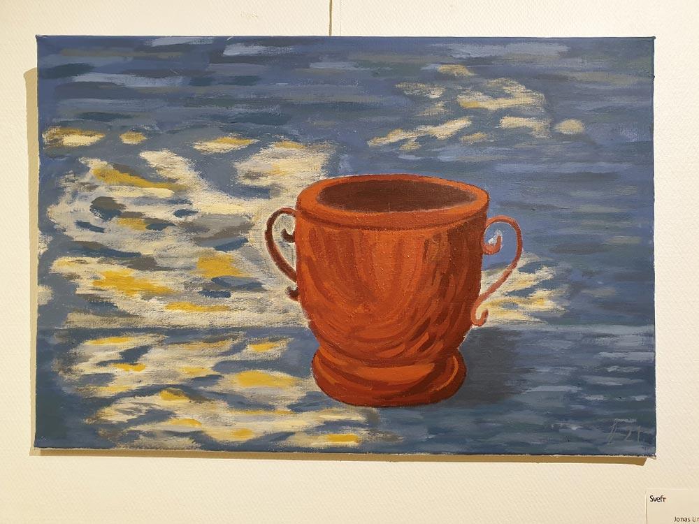 Pot in Blue - Jonas Lindfors