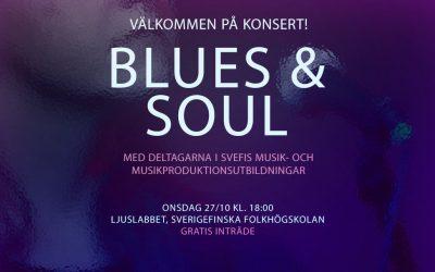 Konsert: Blues & Soul